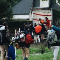photo of people bringing backpack 3195757